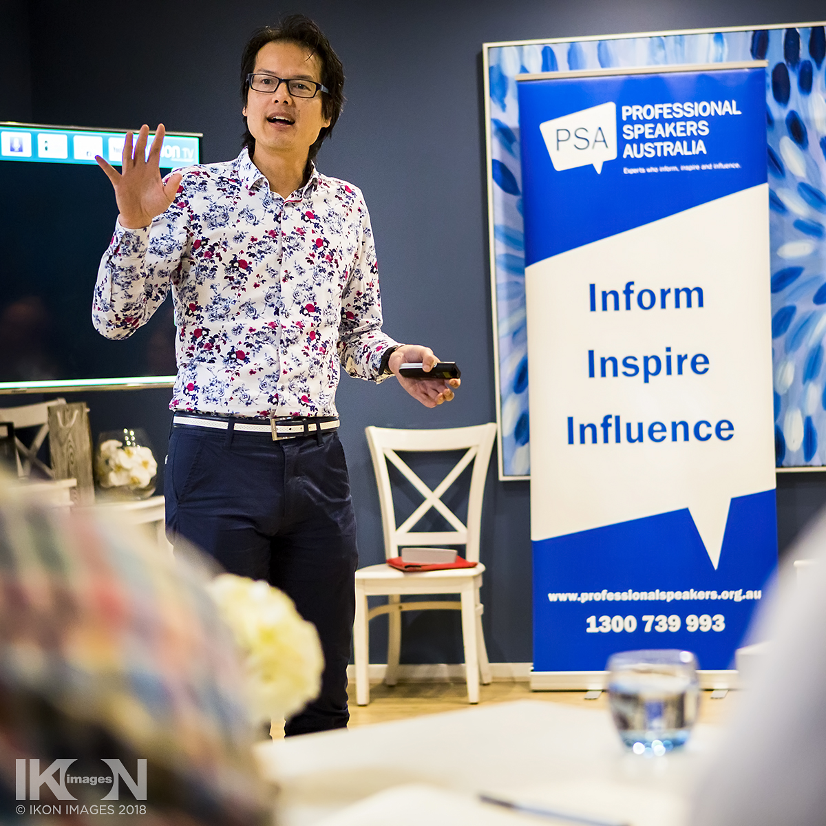 IKON IMAGES, Event Photography, Melbourne, Professional Speakers Australia
